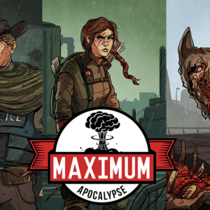 Buy Maximum Apocalypse only at Bored Game Company.