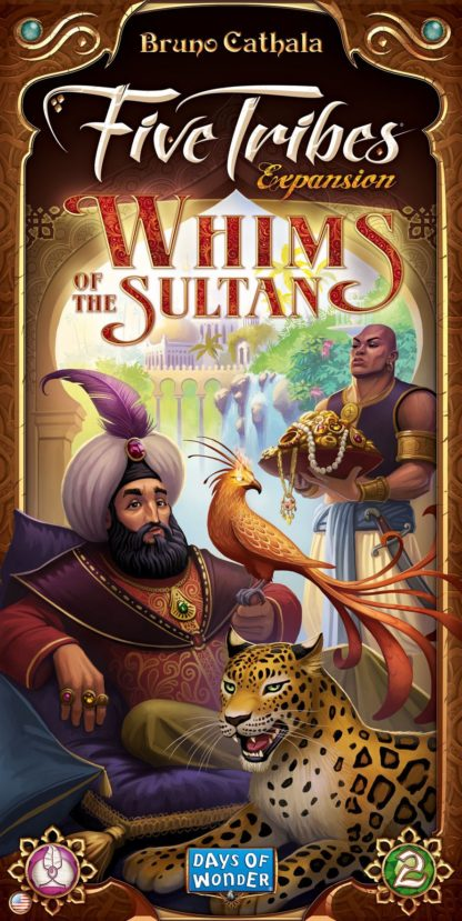 Buy Five Tribes: Whims of the Sultan only at Bored Game Company.