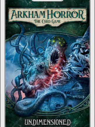Buy Arkham Horror: The Card Game – Undimensioned and Unseen: Mythos Pack only at Bored Game Company.