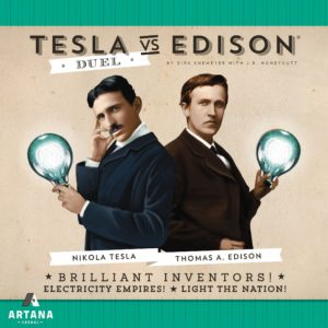 Buy Tesla vs. Edison: Duel only at Bored Game Company.