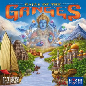 Buy Rajas of the Ganges only at Bored Game Company.