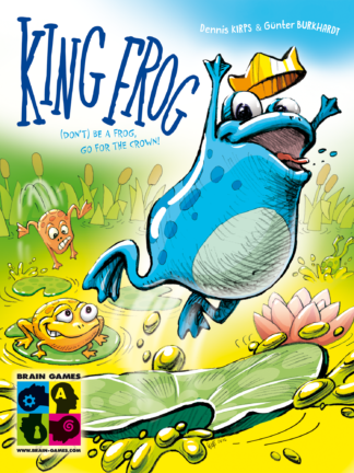 Buy King Frog only at Bored Game Company.