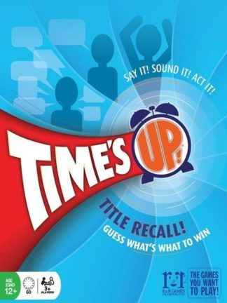 Buy Time's Up! Title Recall! only at Bored Game Company.