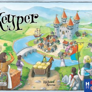 Buy Keyper only at Bored Game Company.