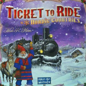 Buy Ticket to Ride: Nordic Countries only at Bored Game Company.