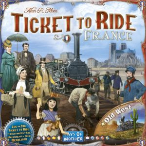 Buy Ticket to Ride Map Collection: Volume 6 – France & Old West only at Bored Game Company.