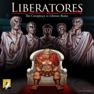 Buy Liberatores: The Conspiracy to Liberate Rome only at Bored Game Company.