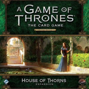Buy A Game of Thrones: The Card Game (Second Edition) – House of Thorns only at Bored Game Company.