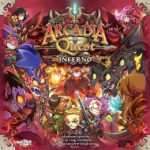 Buy Arcadia Quest: Inferno only at Bored Game Company.