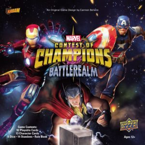 Buy Marvel Contest of Champions: Battlerealm only at Bored Game Company.