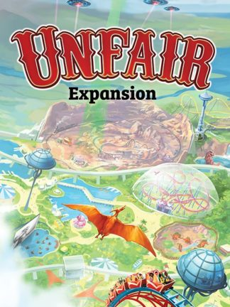 Buy Unfair Expansion: Alien B-movie Dinosaur Western only at Bored Game Company.