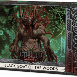 Buy Cthulhu: Death May Die – Black Goat of the Woods only at Bored Game Company.