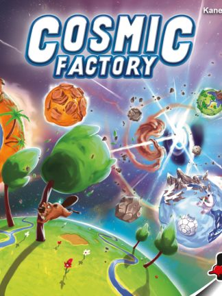 Buy Cosmic Factory only at Bored Game Company.