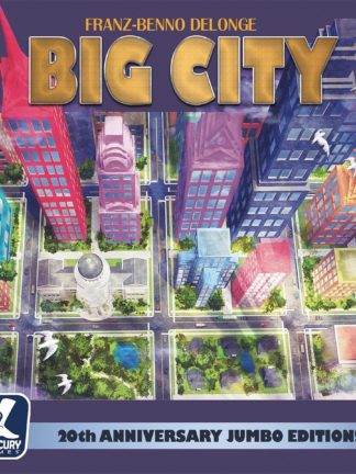Buy Big City: 20th Anniversary Jumbo Edition! only at Bored Game Company.