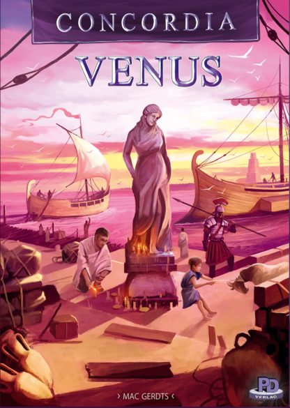 Buy Concordia Venus only at Bored Game Company.