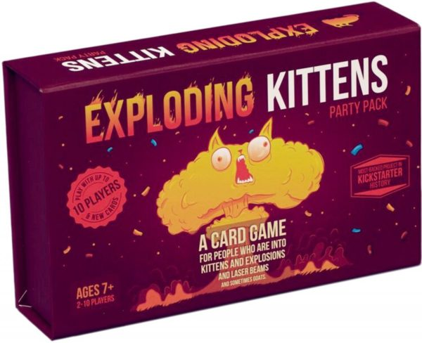 Buy Exploding Kittens: Party Pack only at Bored Game Company.