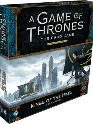 Buy A Game of Thrones: The Card Game (Second Edition) – Kings of the Isles only at Bored Game Company.