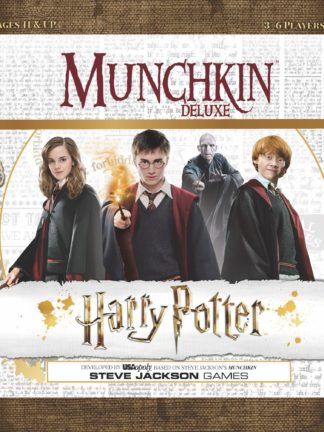 Buy Munchkin Harry Potter Deluxe only at Bored Game Company.