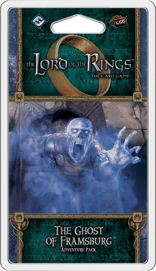 Buy The Lord of the Rings: The Card Game – The Ghost of Framsburg only at Bored Game Company.