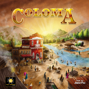 Buy Coloma only at Bored Game Company.