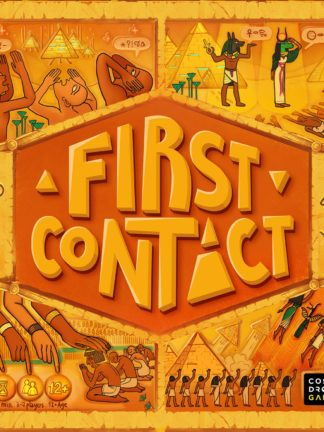 Buy First Contact only at Bored Game Company.
