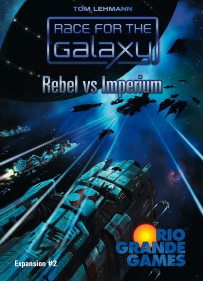Buy Race for the Galaxy: Rebel vs Imperium only at Bored Game Company.