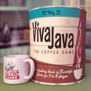 Buy VivaJava: The Coffee Game only at Bored Game Company.
