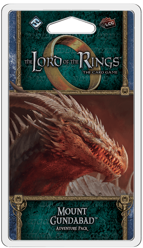 Buy The Lord of the Rings: The Card Game – Mount Gundabad only at Bored Game Company.