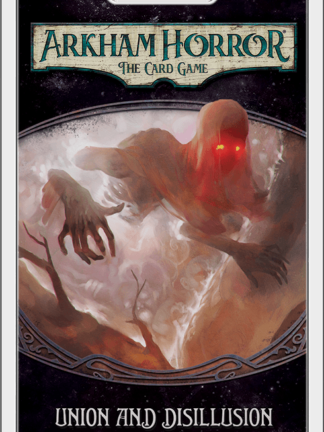 Buy Arkham Horror: The Card Game – Union and Disillusion: Mythos Pack only at Bored Game Company.