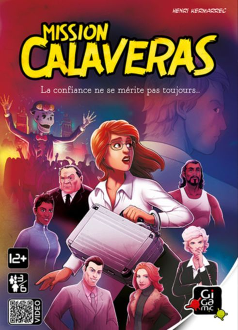 Buy Mission Calaveras only at Bored Game Company.