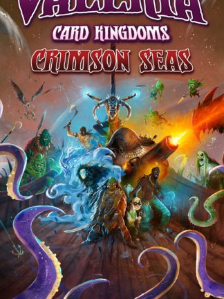 Buy Valeria: Card Kingdoms – Crimson Seas Retail Edition only at Bored Game Company.