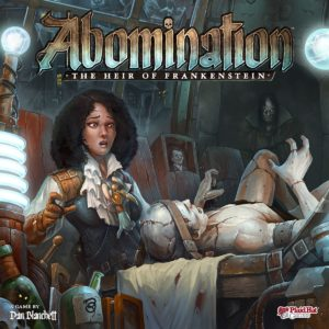 Buy Abomination: The Heir of Frankenstein only at Bored Game Company.