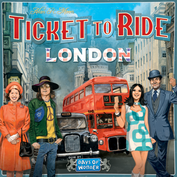 Buy Ticket to Ride: London only at Bored Game Company.