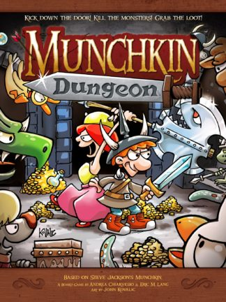 Buy Munchkin Dungeon only at Bored Game Company.
