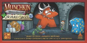 Buy Munchkin Dungeon: Board Silly only at Bored Game Company.