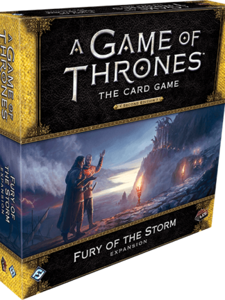 Buy A Game of Thrones: The Card Game (Second Edition) – Fury of the Storm only at Bored Game Company.