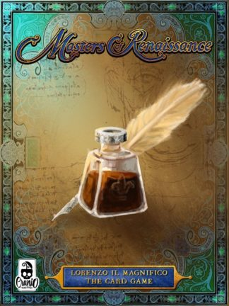 Buy Masters of Renaissance: Lorenzo il Magnifico – The Card Game only at Bored Game Company.
