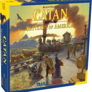 Buy Catan Histories: Settlers of America – Trails to Rails only at Bored Game Company.