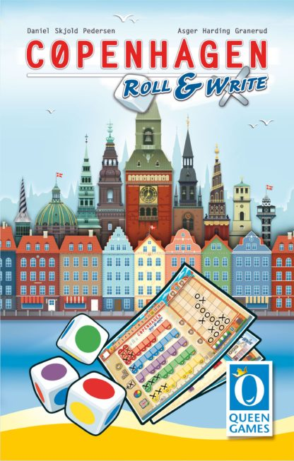 Buy Copenhagen: Roll & Write only at Bored Game Company.