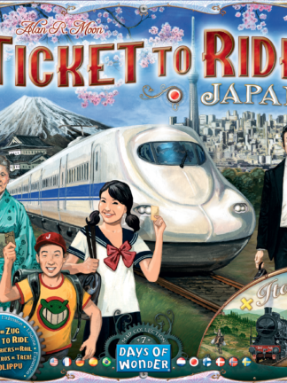 Buy Ticket to Ride Map Collection: Volume 7 – Japan & Italy only at Bored Game Company.