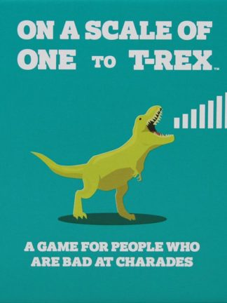 Buy On a Scale of One to T-Rex only at Bored Game Company.