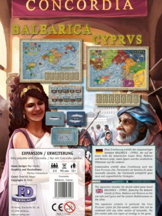 Buy Concordia: Balearica / Cyprus only at Bored Game Company.