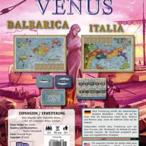 Buy Concordia Venus: Balearica / Italia only at Bored Game Company.
