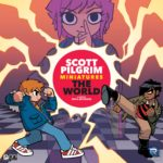 Buy Scott Pilgrim Miniatures The World only at Bored Game Company.
