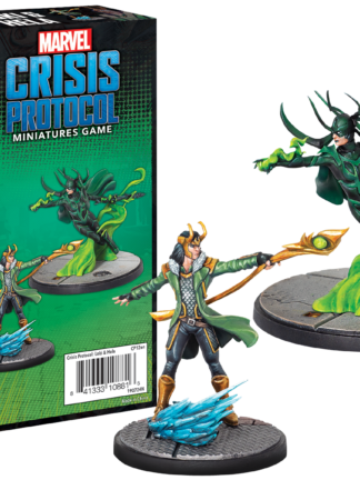 Buy Marvel: Crisis Protocol – Loki and Hela only at Bored Game Company.