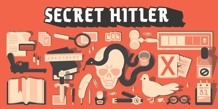 Buy Secret Hitler only at Bored Game Company.