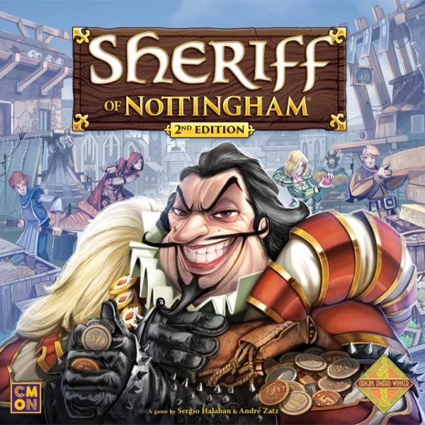 Buy Sheriff of Nottingham (2nd Edition) only at Bored Game Company.