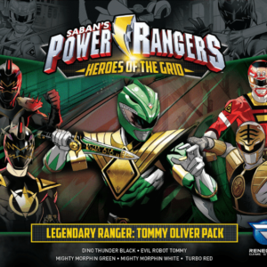 Buy Power Rangers: Heroes of the Grid – Legendary Ranger: Tommy Oliver Pack only at Bored Game Company.