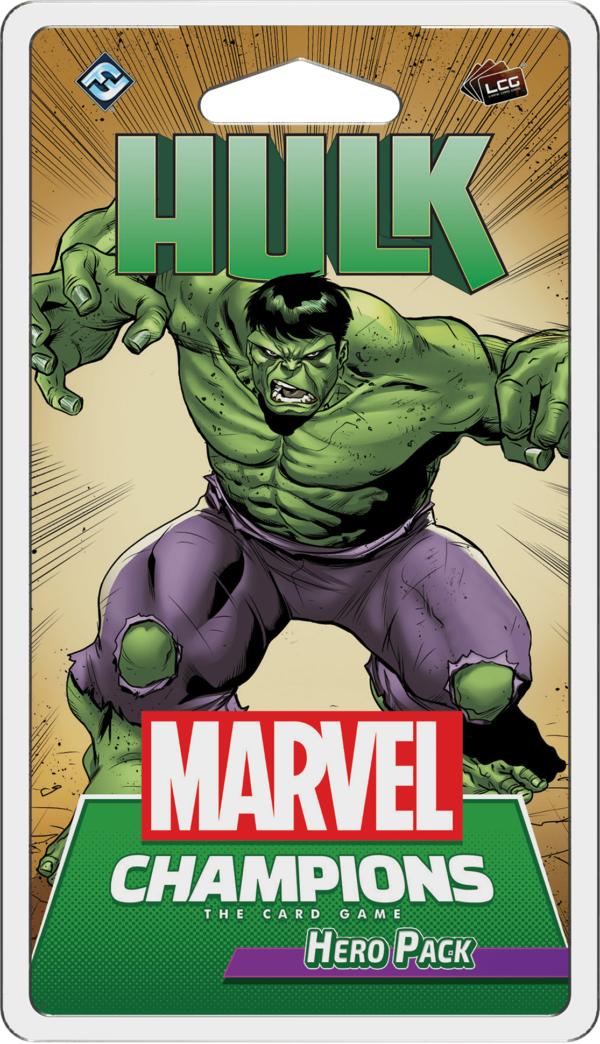 Buy Marvel Champions: The Card Game – Hulk Hero Pack only at Bored Game Company.