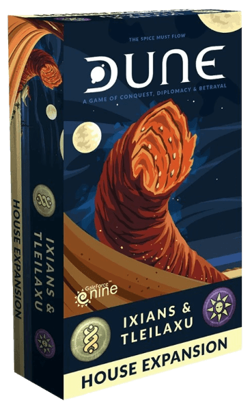 Buy Dune: Ixians & Tleilaxu only at Bored Game Company.